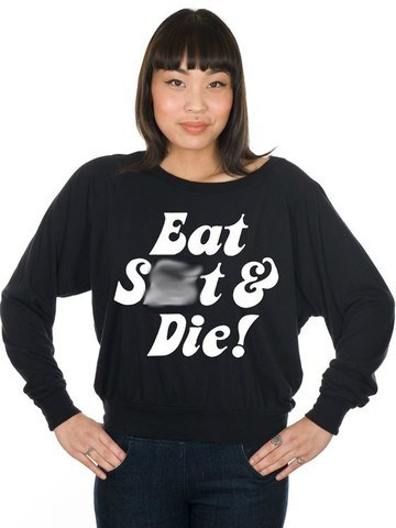 poorly dressed sweatshirt attitude - 8194745344