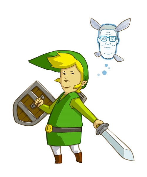 mashups King of the hill navi zelda