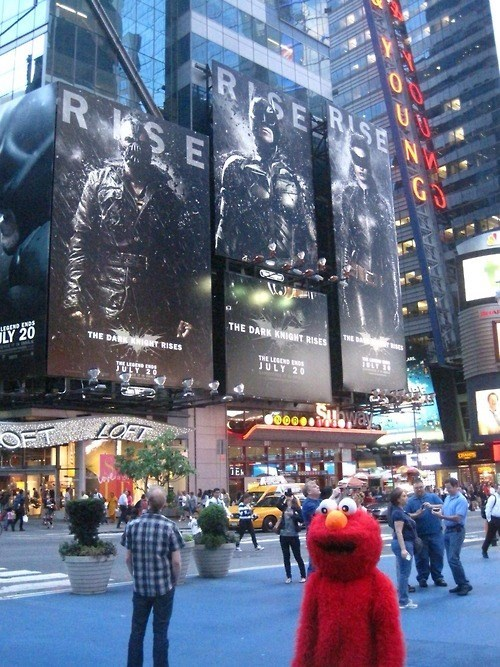 billboards the dark knight rises