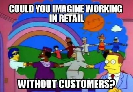 monday thru friday peace retail work harmony imagination the simpsons g rated