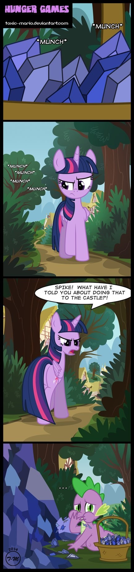 spike,twilight sparkle,comics