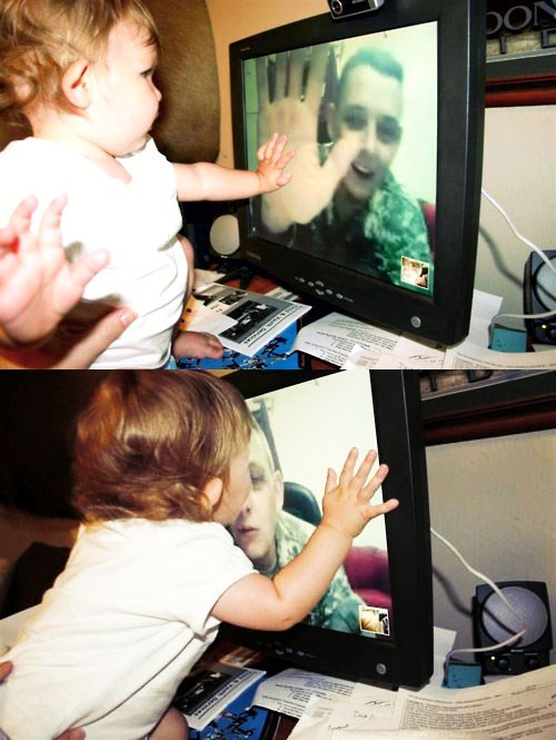 skype,baby,kisses,parenting