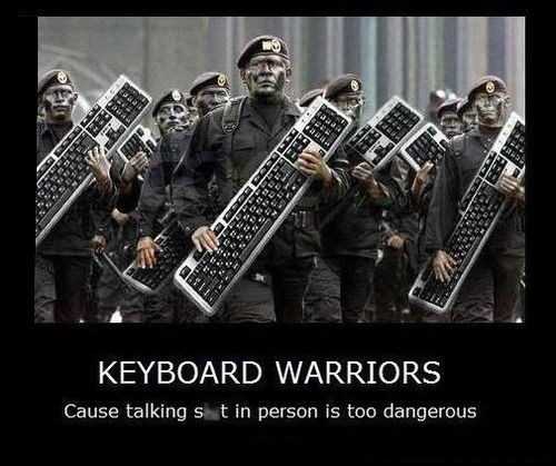 internet warriors funny keyboard - 8196107264