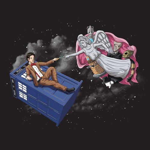art 11th Doctor tshirts - 8196110848