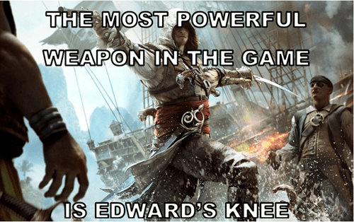 edward kenway falcon knee assassins creed Assassin's Creed IV - 8196128000