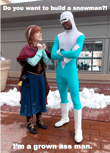 anna,the incredibles,frozone,frozen