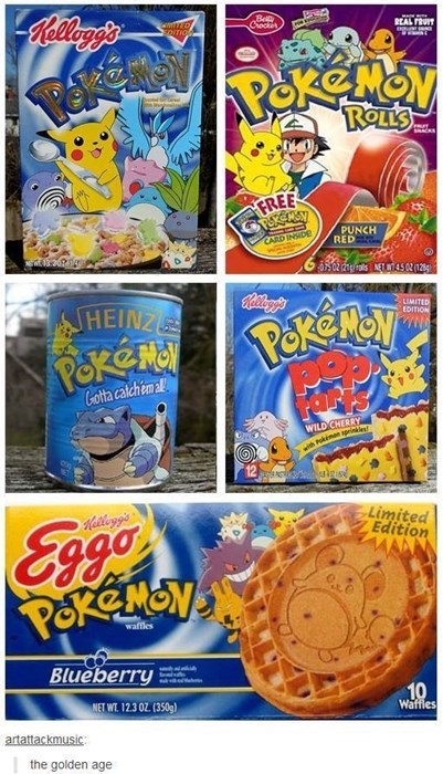 Pokémon,nostalgia,products