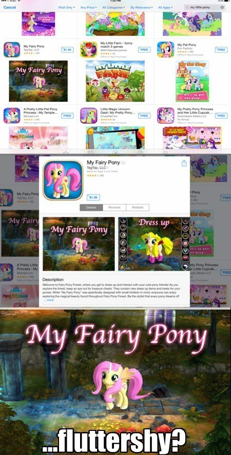ios games alicorn fluttershy - 8196184832