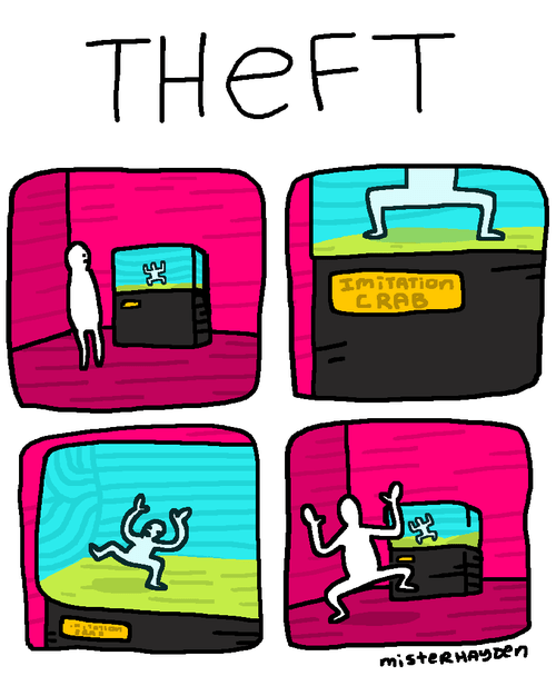 crabs,theft,web comics
