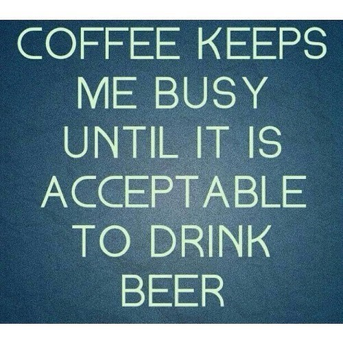 beer coffee quote funny - 8196216576