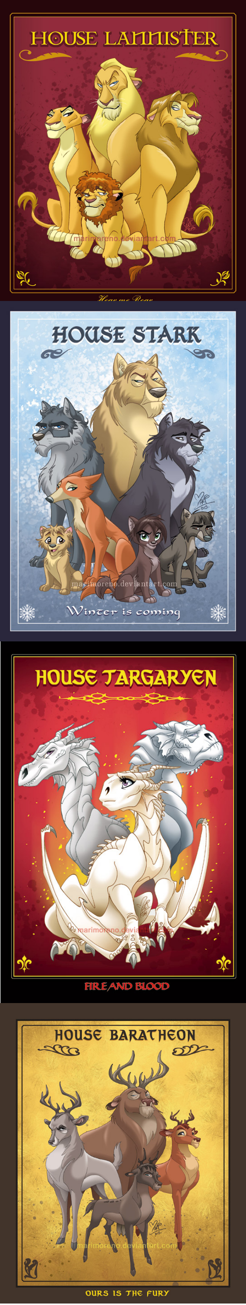 disney Fan Art Game of Thrones lion king - 8196219648