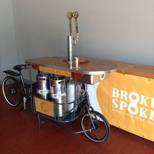 beer bike funny invention pub - 8196226304