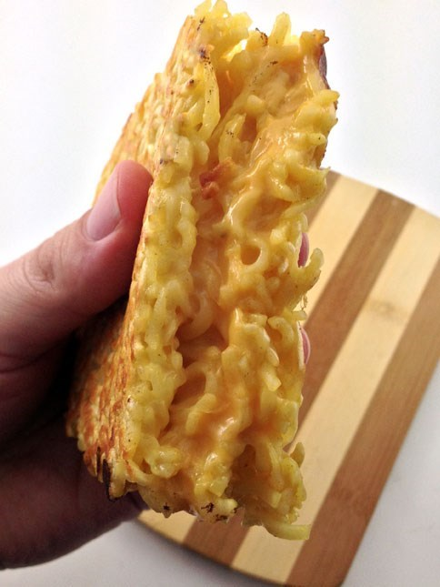 The Grilled Ramen Cheese Sandwich. Yes, it is Real.
