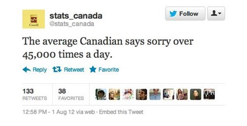 Canada,twitter,true facts,failbook,g rated