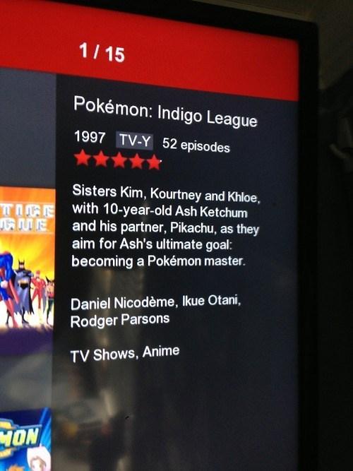 netflix Pokémon kim kardashian
