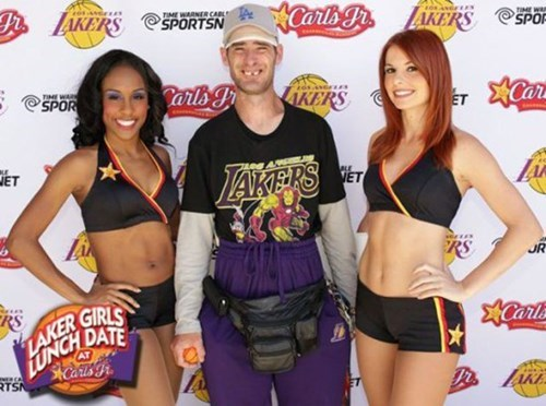 basketball cheerleaders los angeles lakers - 8196308736