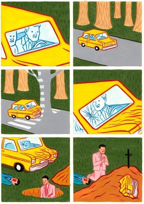 car accidents crashes yikes web comics - 8196930048