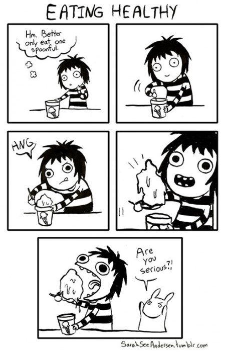 eating diets ice cream web comics - 8196930816