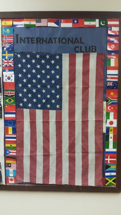 flags,international club