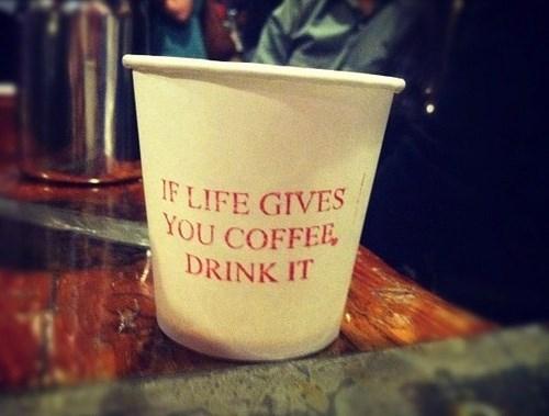 monday thru friday coffee