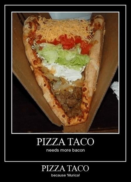 funny pizza taco - 8197086464