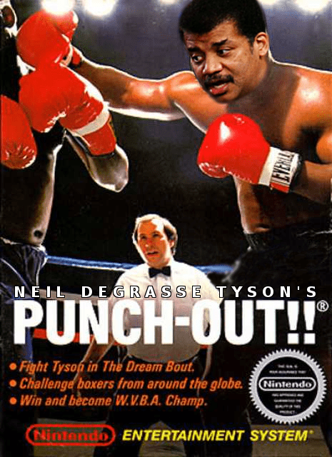 funny Neil deGrasse Tyson video games Punch Out mike tyson - 8197170432