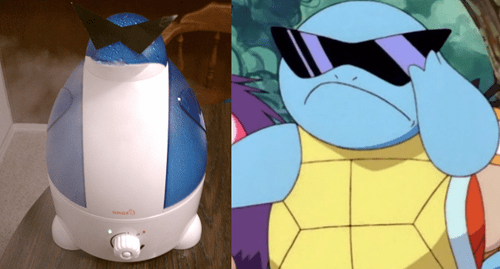 Deal With It humidifier sunglasses squritle
