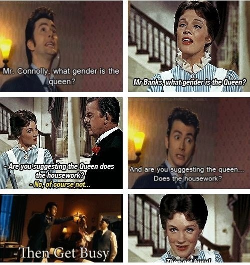 10th doctor,mary poppins
