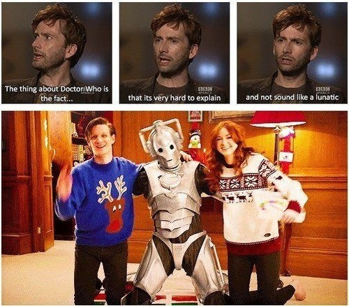 David Tennant cyberman Matt Smith - 8197228288