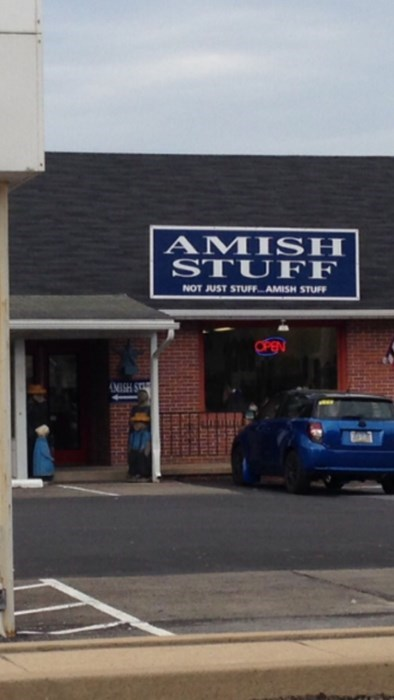 amish business name stuff monday thru friday work