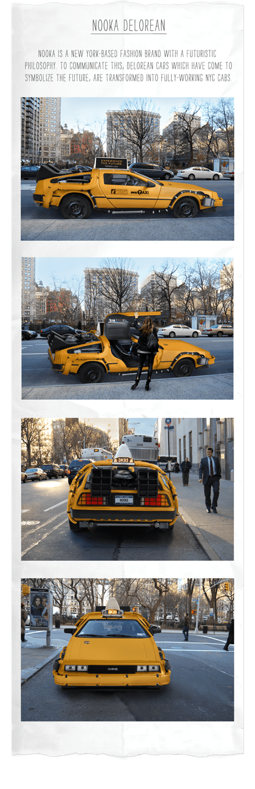 DeLorean taxi - 8197265664