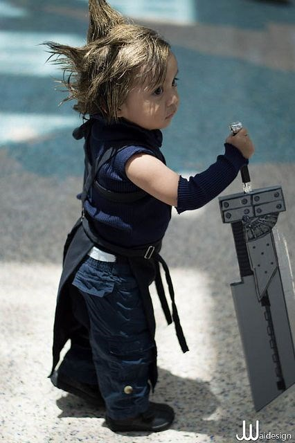 cloud strife,cosplay,final fantasy