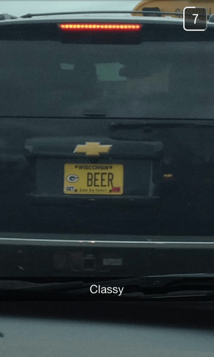 beer classy funny license plate after 12 g rated - 8197342720