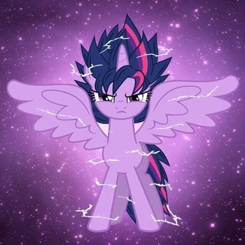 Fan Art twilight sparkle dragonball z - 8197371904