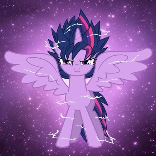 Fan Art twilight sparkle dragonball z - 8197371904