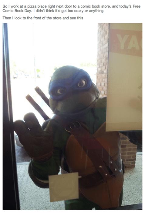 monday thru friday teenage mutant ninja turtles TMNT pizza work g rated - 8198082304