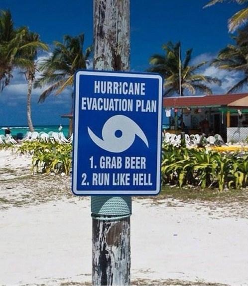 beer funny sign hurricane sandy after 12 - 8198215936