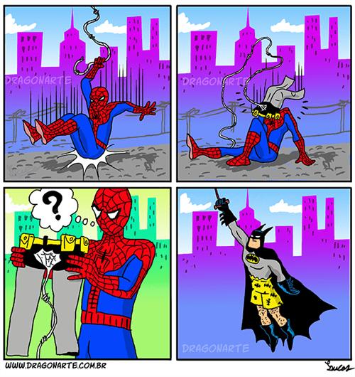 batman Spider-Man web comics - 8198223616