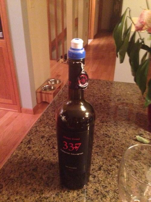 bottle funny wine topper - 8198275328