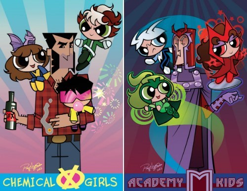 Fan Art x men powerpuff girls - 8198299648