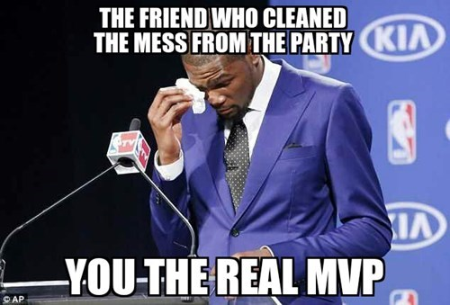 kevin durant parties you the real mvp - 8198299904