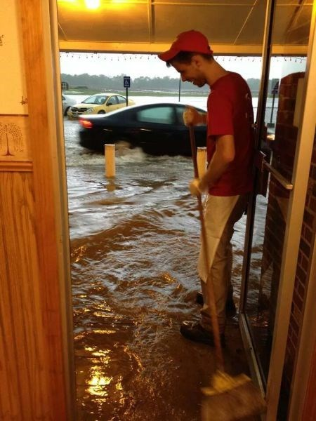 flood monday thru friday sweeping work - 8198327296
