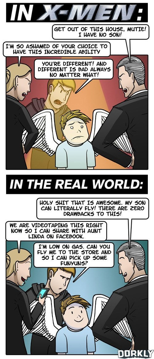 dorkly,xmen,web comics