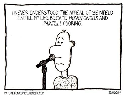 sad but true seinfeld web comics - 8198472704