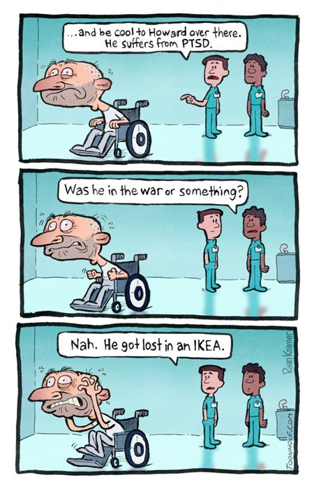ikea,ptsd,Sad,web comics