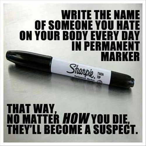 sharpie people you hate