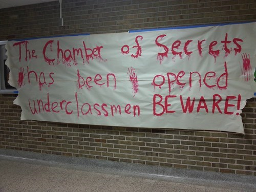 chamber of secrets high school Harry Potter funny - 8198581504