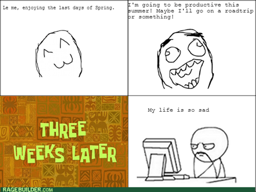 computer guy,productivity,spring,seasons