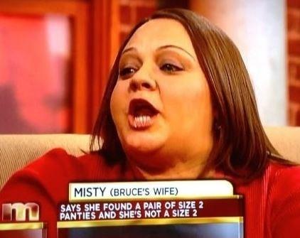 wtf misty cheating maury
