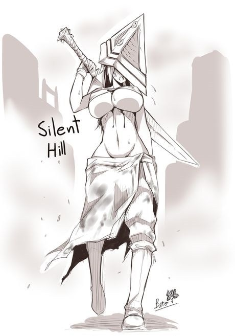 Fan Art,silent hill